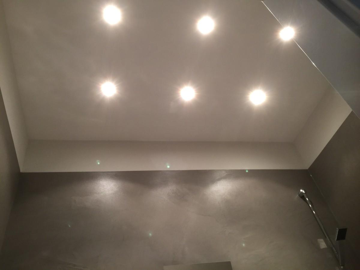 fugenlos - badezimmer in betonoptik - von malermeister luckey, Badezimmer ideen