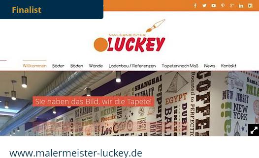 malermeister-luckey.de im Finale 2015