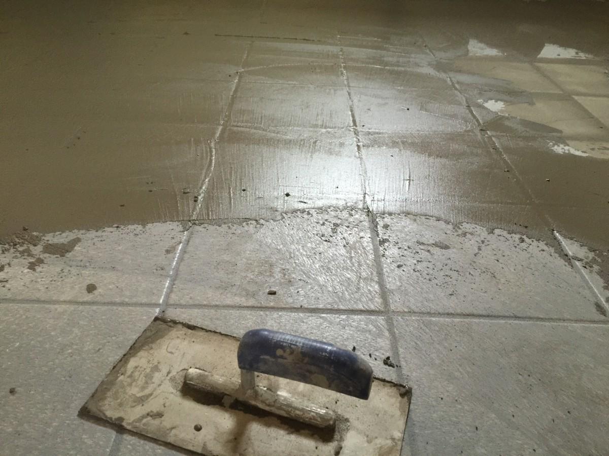 Spachtelboden in betonoptik im fachwerkhaus von for Boden in betonoptik